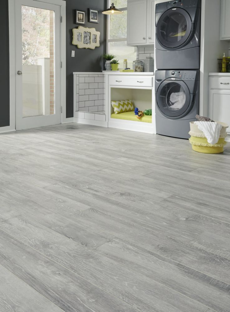 Mannington Restoration Collection® Hillside Hickory Cloud 28215