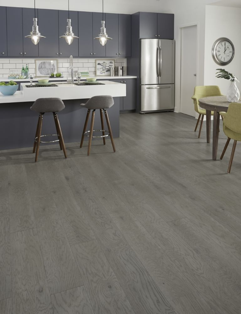 Mannington Hand Crafted Latitude Tribeca Oak Brushed Steel HPLK07BRUS1