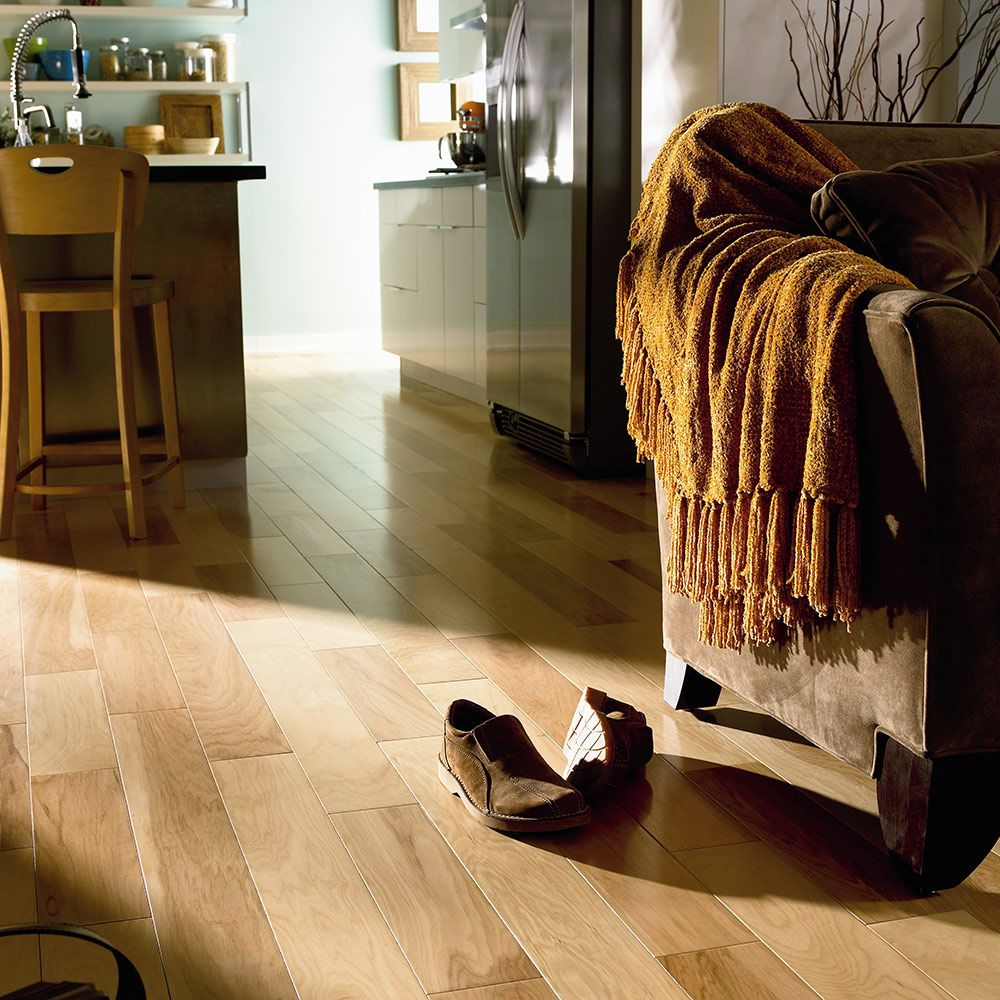 Mannington American Classics American Hickory Plank 5 inch Russet AMY05RUT1