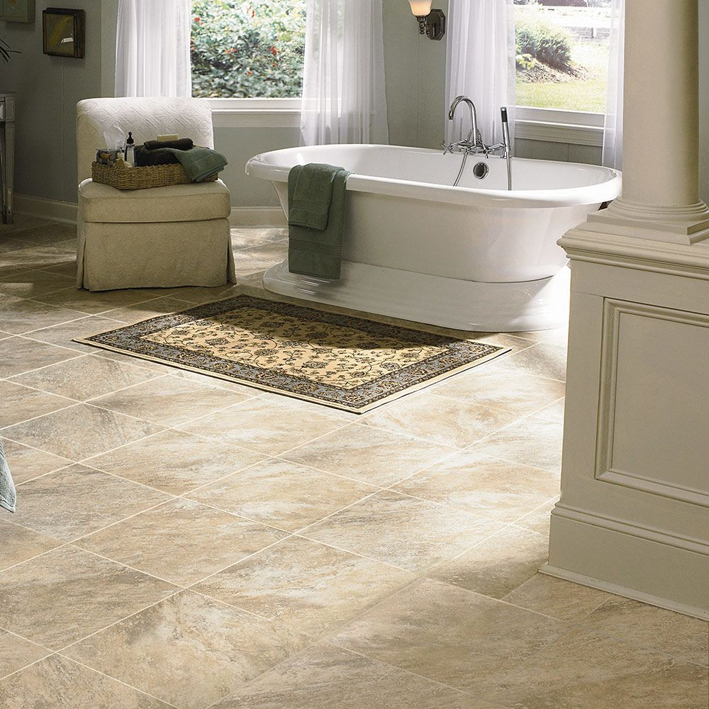 Mannington Adura® Luxury Vinyl Tile Flooring Seaside Breakwater AT200