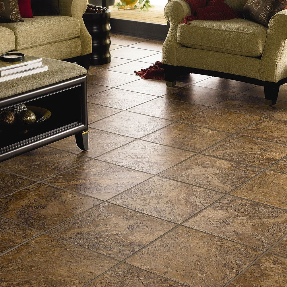 Mannington Adura® Luxury Vinyl Tile Flooring Corsica Cavern AT222
