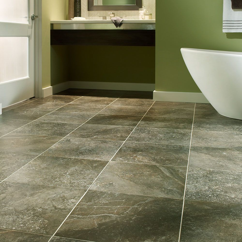Mannington Adura® Luxury Vinyl Tile Flooring Athena Cyprus AT241