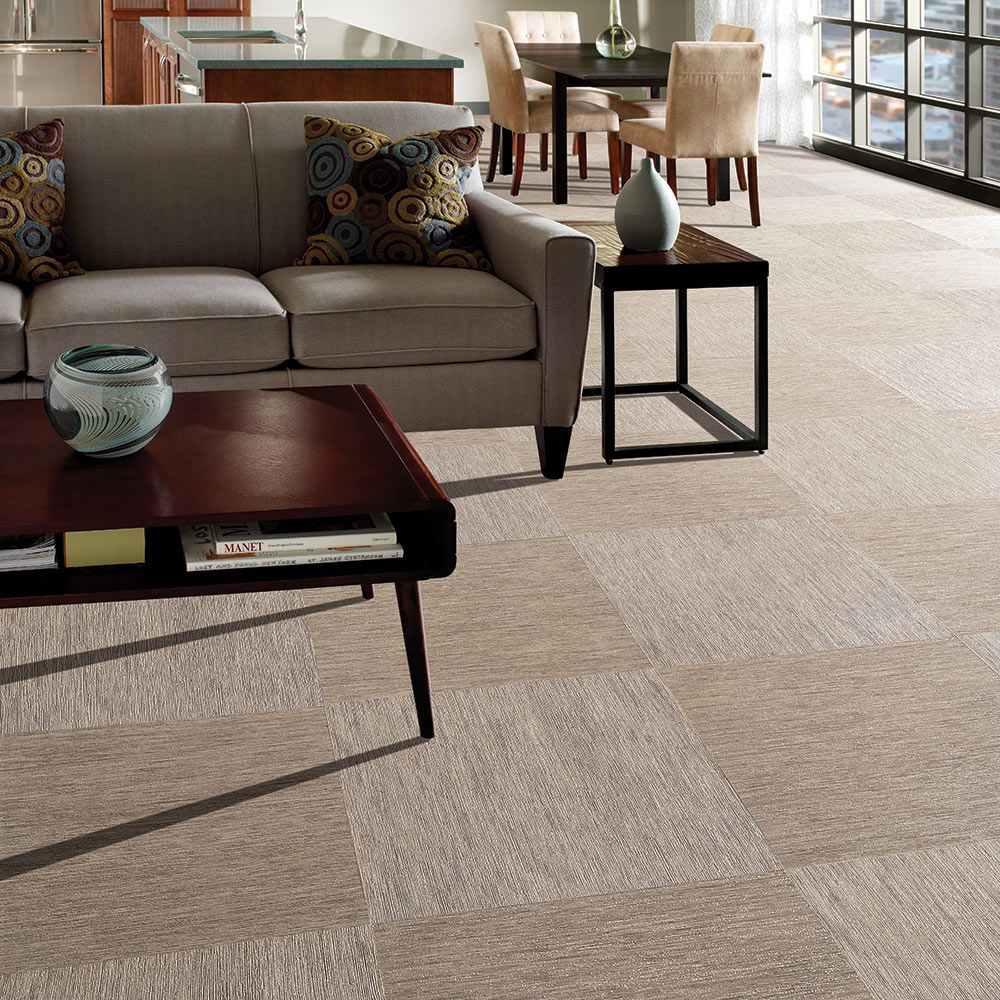 Mannington Adura® Luxury Vinyl Tile Flooring Vibe Linen AT270