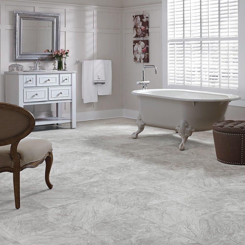 Mannington Adura® Luxury Vinyl Tile Flooring Century Pumice AR380S