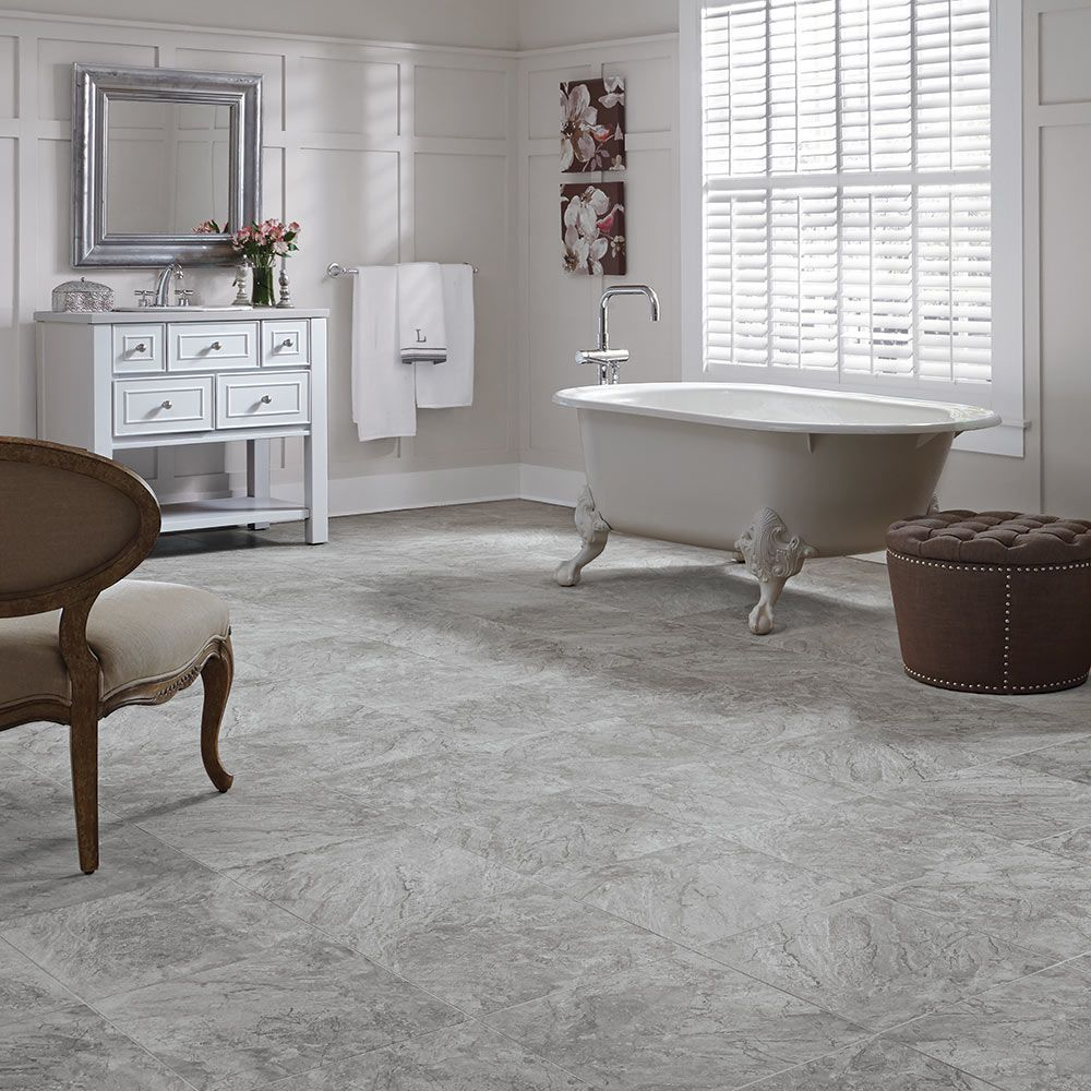 Mannington Adura® Luxury Vinyl Tile Flooring Century Mineral AT383