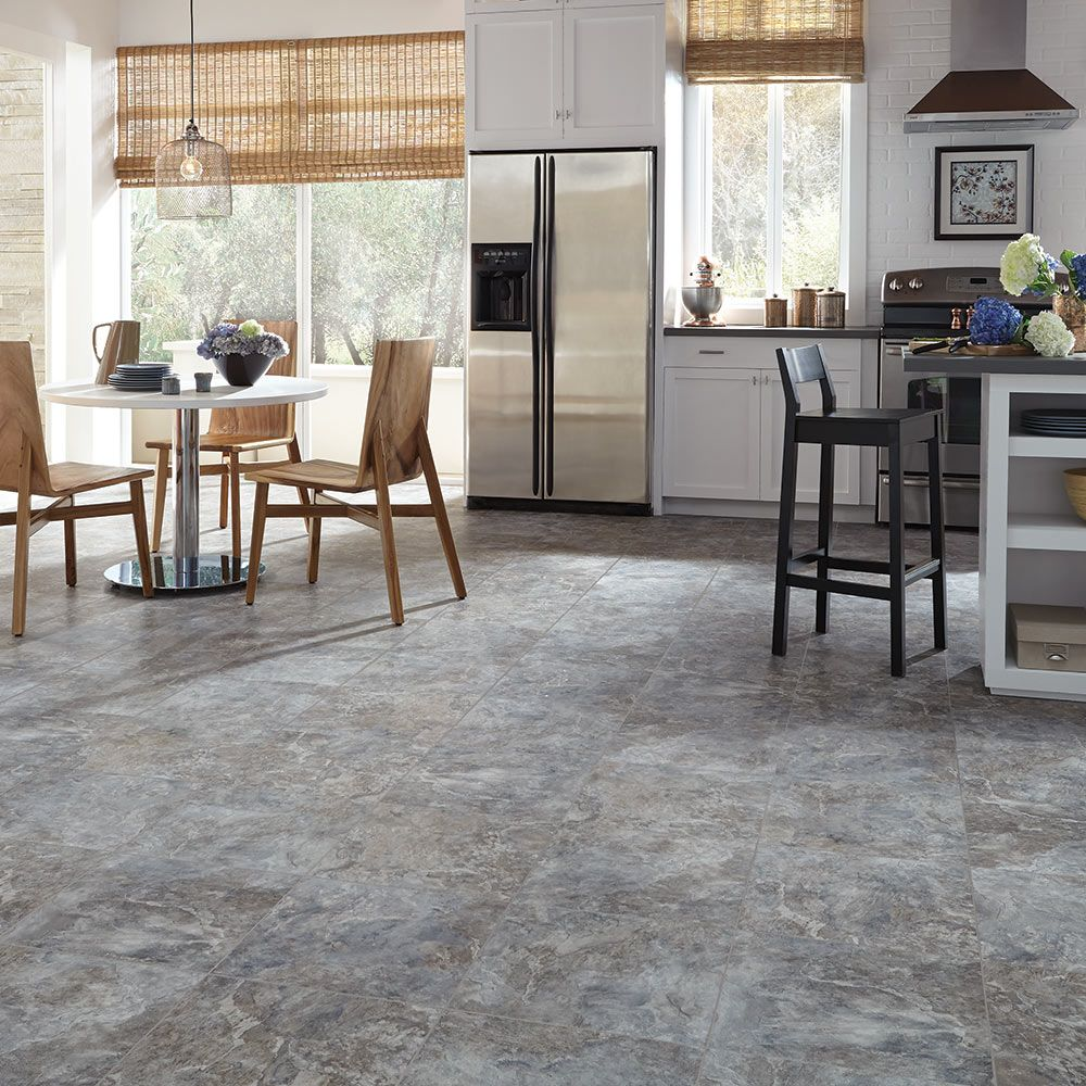 Mannington Adura® Luxury Vinyl Tile Flooring Rushmore Cliffside AT391