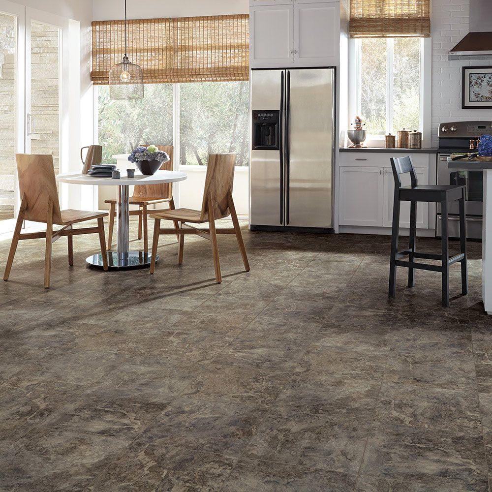 Mannington Adura® Luxury Vinyl Tile Flooring Rushmore Black Hill AT392