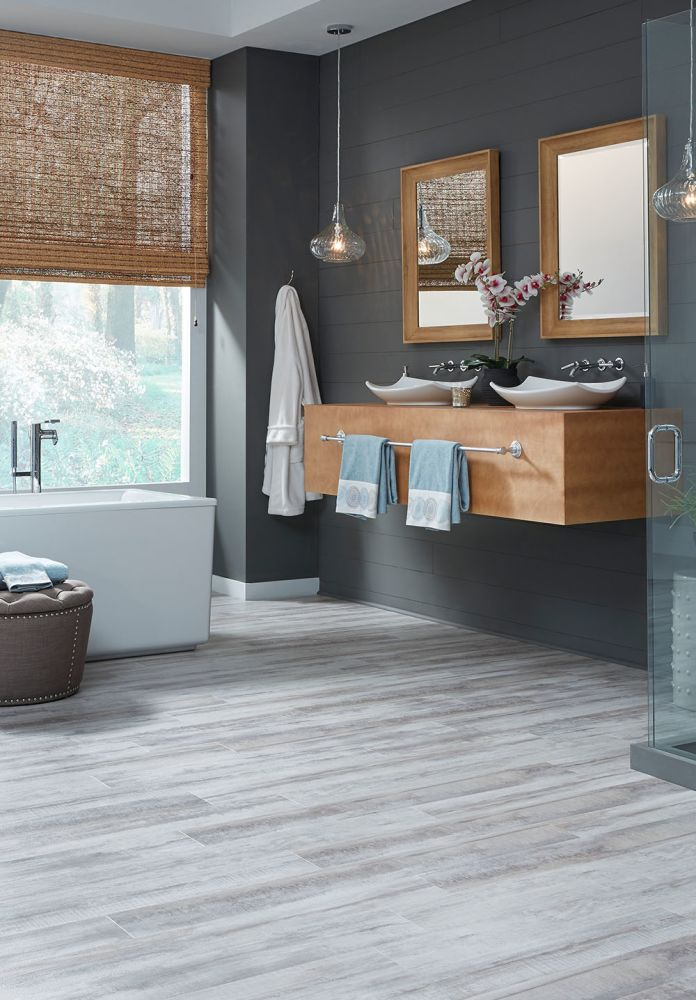Mannington Adura®flex Tile Cape May White Cap FXR680