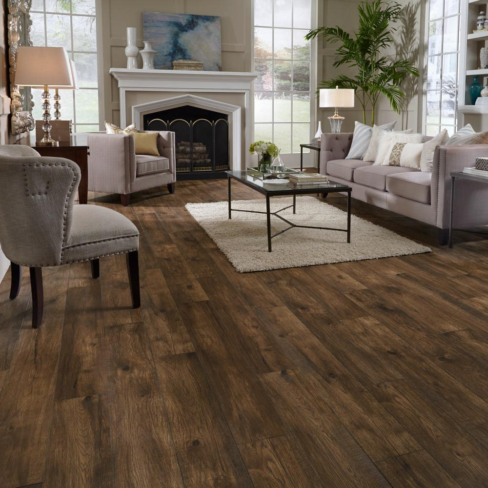 Mannington Restoration Collection® Hillside Hickory Acorn 28210
