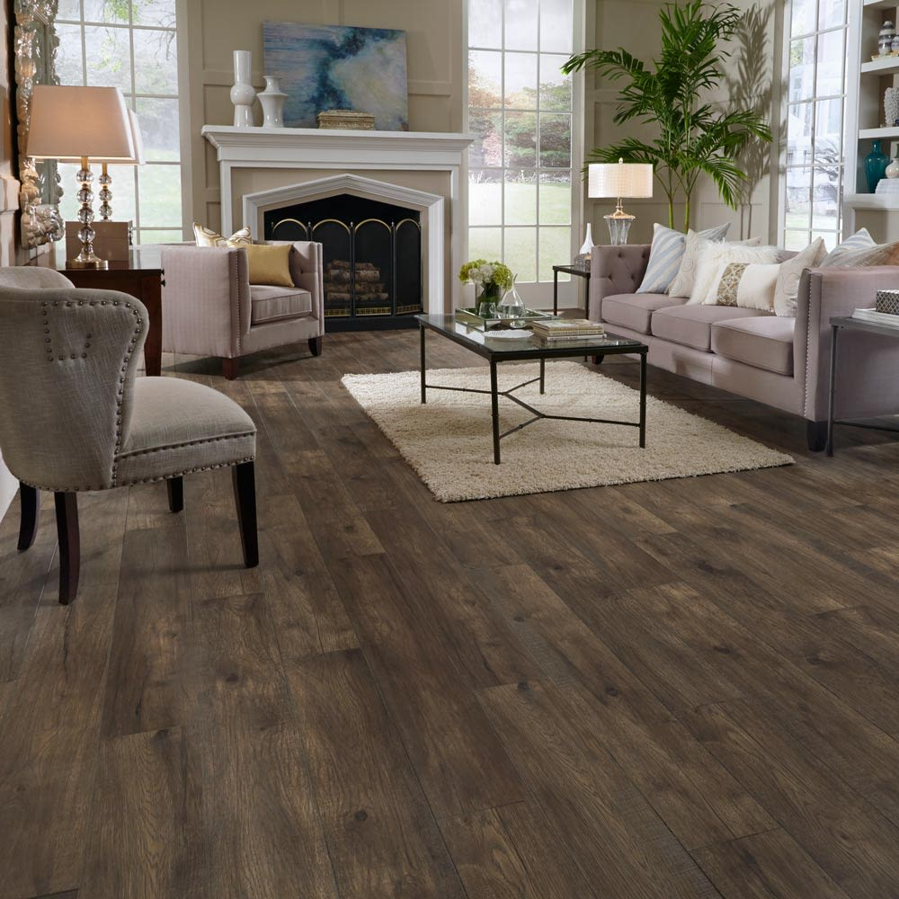 Mannington Restoration Collection® Hillside Hickory Coal 28212