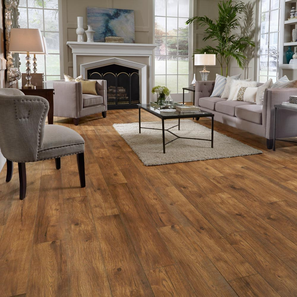 Mannington Restoration Collection® Hillside Hickory Ember 28213