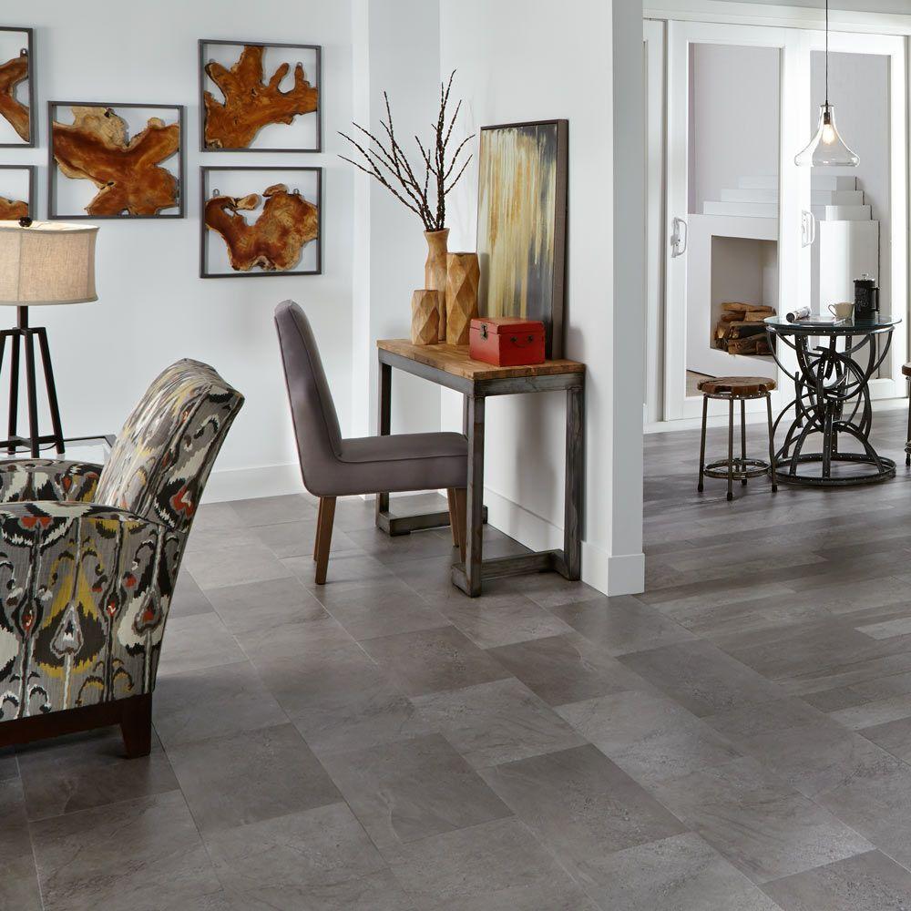 Mannington Adura®max Tile Meridian Carbon MAR023
