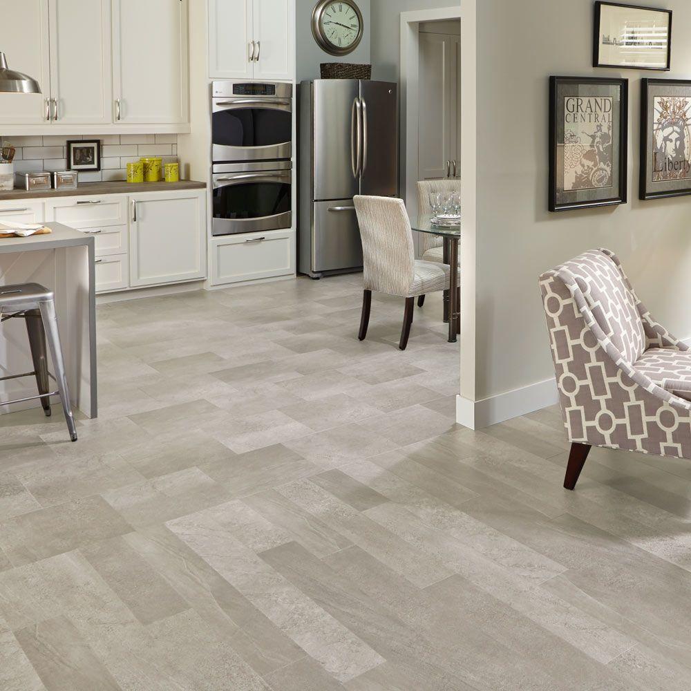 Mannington Adura® Luxury Vinyl Tile Flooring Meridian Stucco ASP401