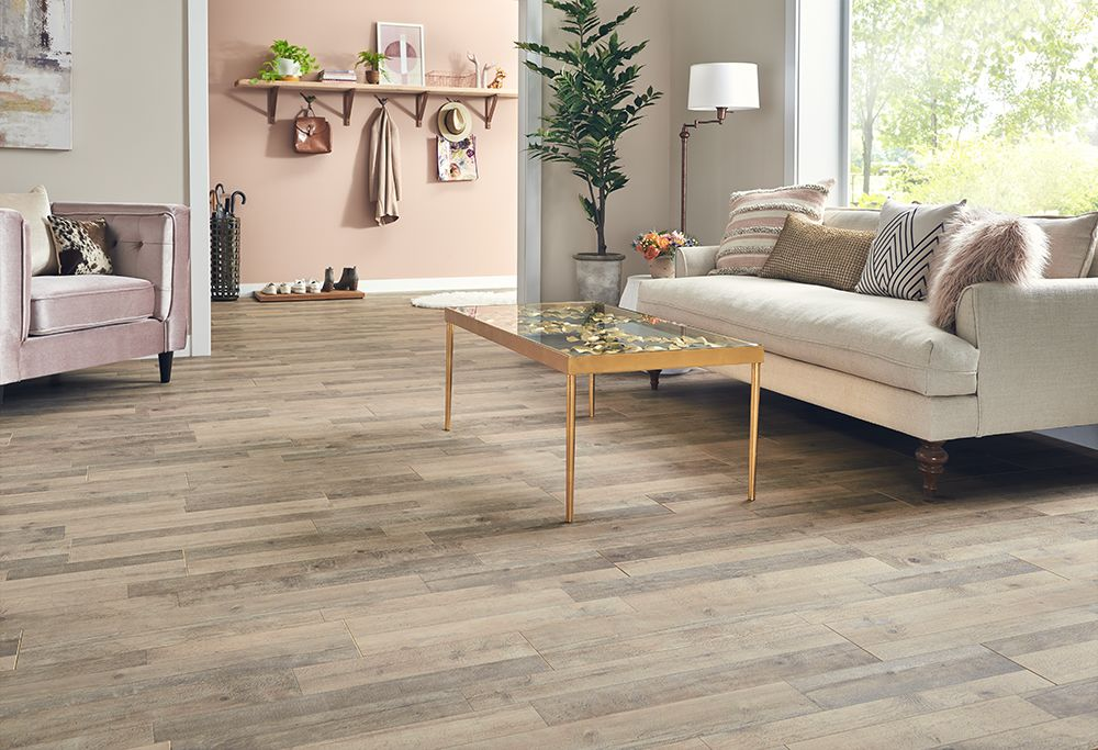 Mannington Restoration Collection® Station Pine Sand 28500