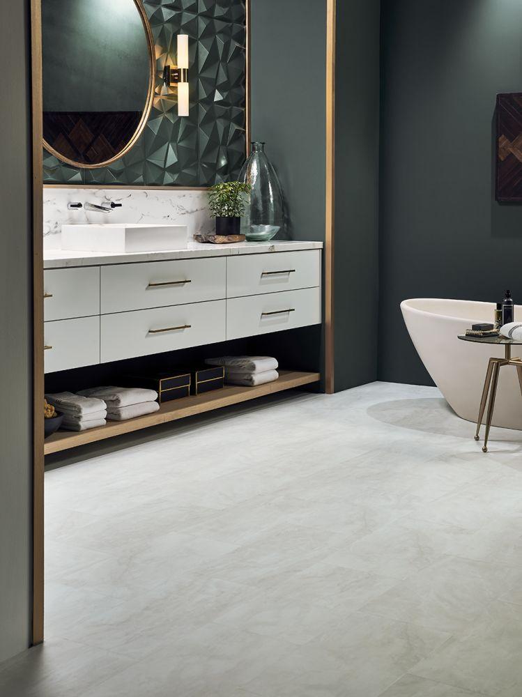 Mannington Adura®max Tile Vienna Alabaster MAR430