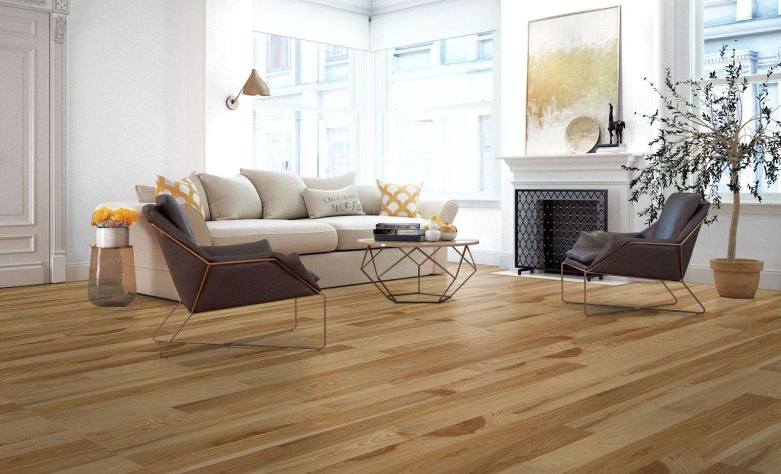 Mercier Wood Flooring White Ash WHTSWHTSH