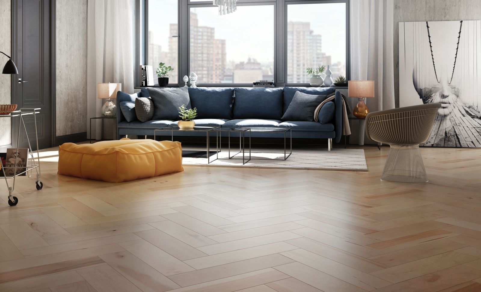 Mercier Wood Flooring Hard Maple Madera HRDMPLMDR