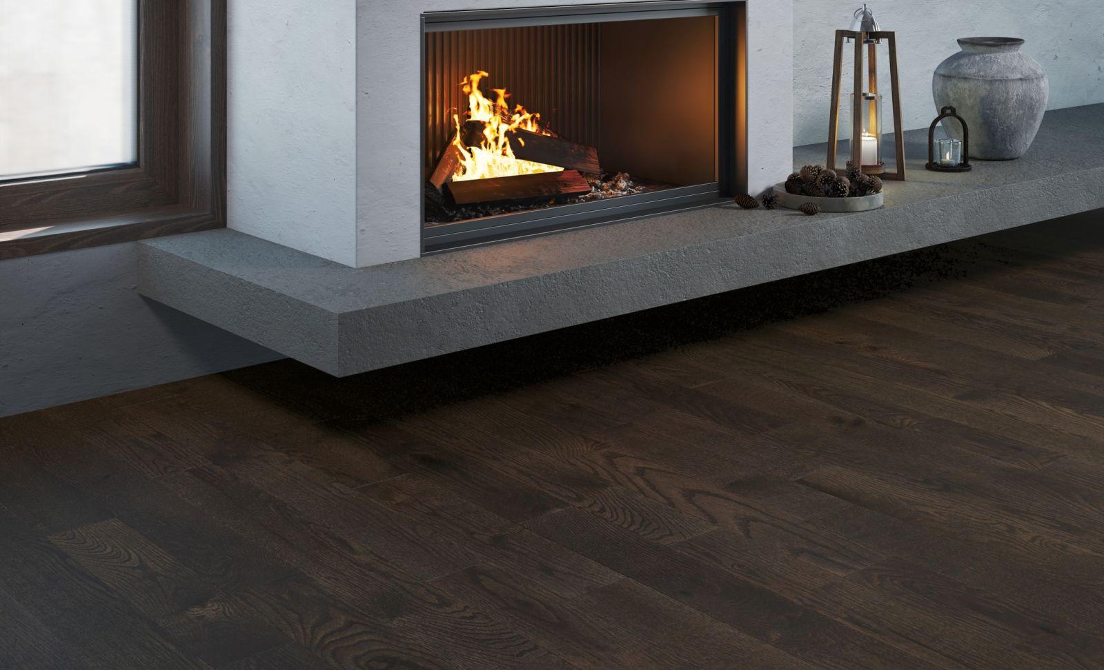 Mercier Wood Flooring Red Oak Carbon RDKCRBN