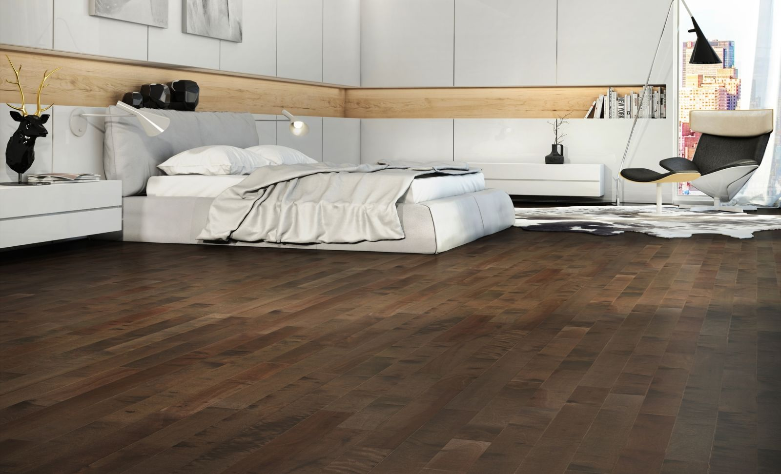 Mercier Wood Flooring Yellow Birch Volcano Dust YLLWBCNDST