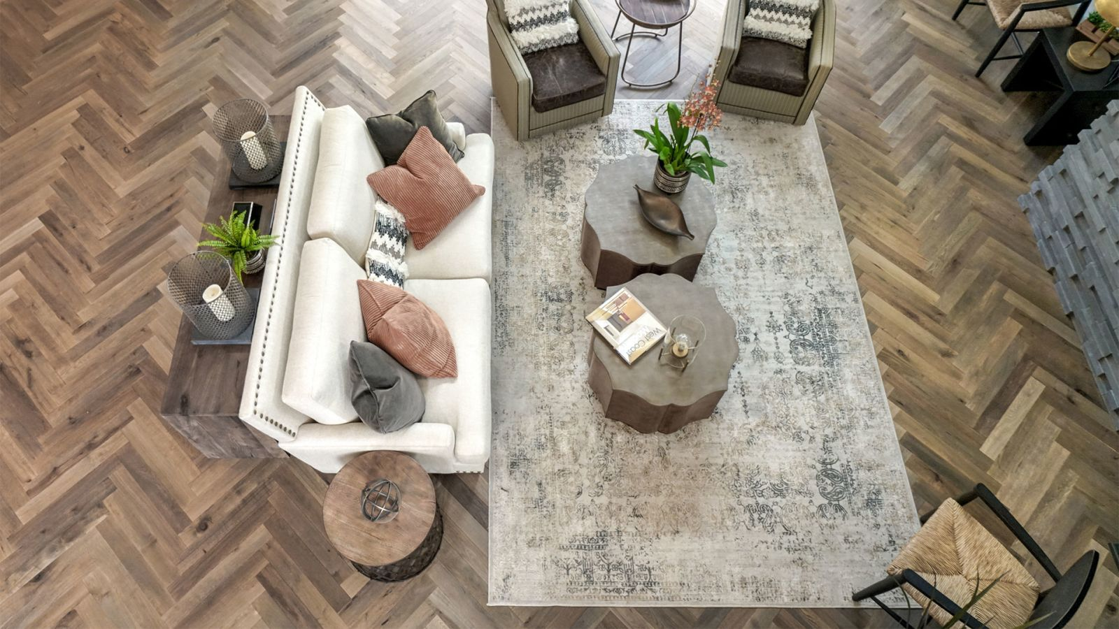 Provenza Herringbone Reserve Collection Dovetail HER1003