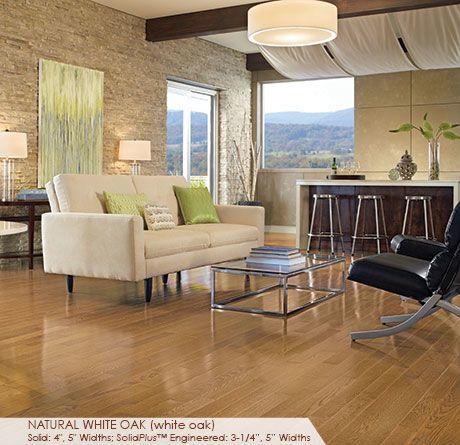Somerset Color Plank Natural White Oak CLRPLWHTK