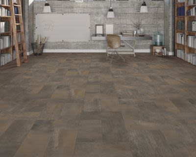 Mohawk Hampton Heights Tile Look Dark Ash E0001-RC546