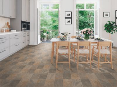 Mohawk Versatech Tile Look Brown Sugar M178V-998