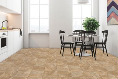 Mohawk Duracor Tile Look Mystic Slate Brown P544V-039