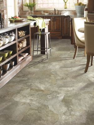 Mohawk Woodlands Tile Look Stone Mountain IVO39-194