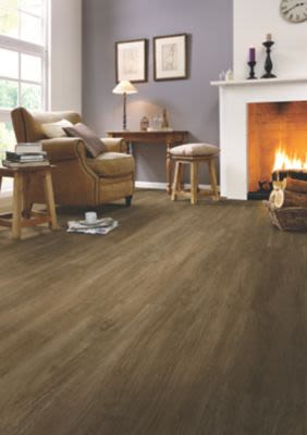 Mohawk Daventry Multi-Strip Walnut Mocha RES07-47