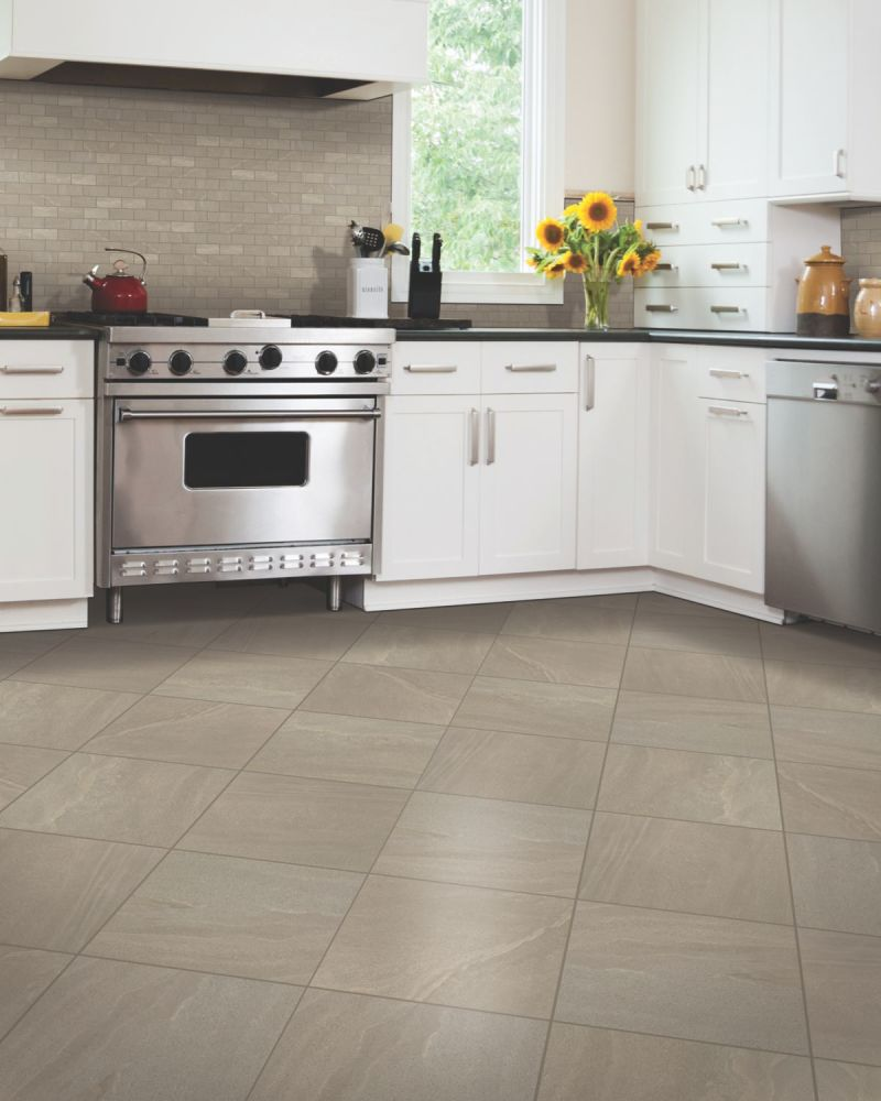 Mohawk Grand Boulevard Porcelain Luxury Gray Polished T834-GB94-12×12-FieldTile-Porcelain