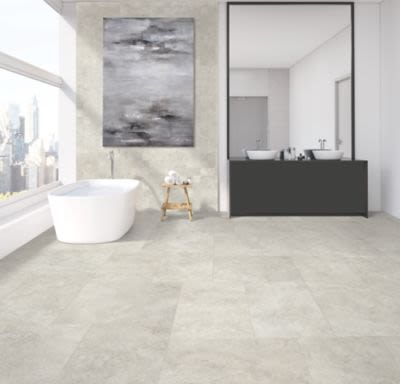 Mohawk Scotland Stone Ceramic Stone Grey T840-SS26-18×18-FieldTile-Ceramic
