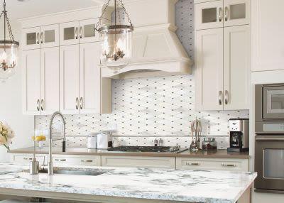 Mohawk Chateau Elegant Stone Bianco Carrara T843-CE40-10.92×12.31-MosaicFieldAccentTile-Stone