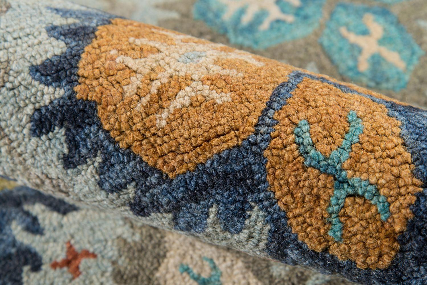 Momeni Tangier Tan17 Blue 2'3″ x 8'0″ Runner TANGITAN17BLU2380