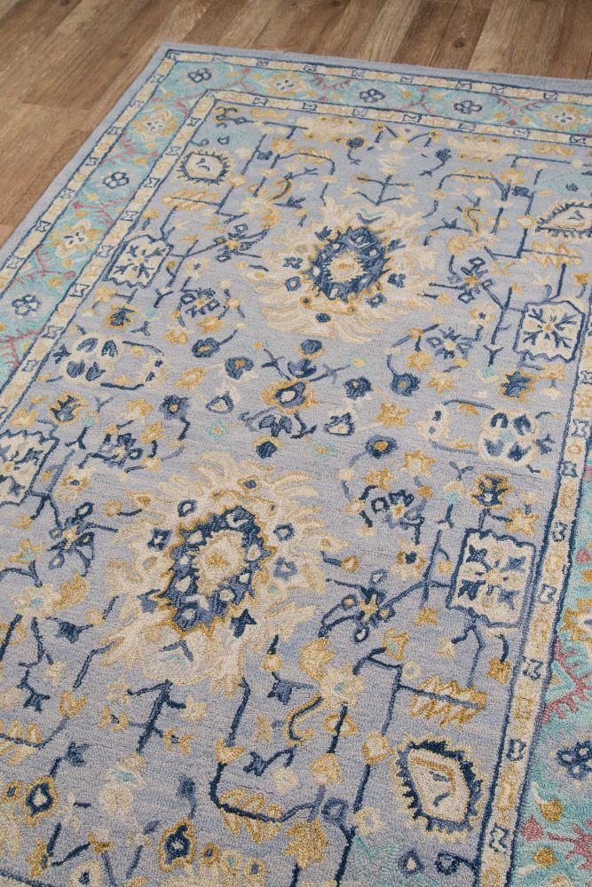 Momeni Tangier Tan30 Blue 8'0″ x 11'0″ TANGITAN30BLU80B0