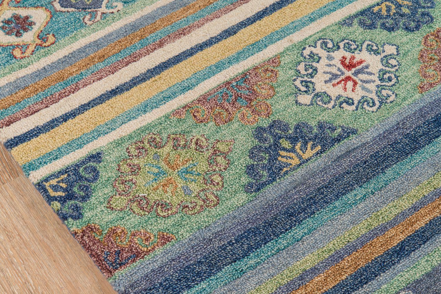 Momeni Tangier Tan32 Blue 8'0″ x 11'0″ TANGITAN32BLU80B0