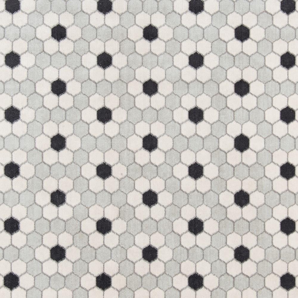 Novogratz Terrace Trc-1 Modern Hex Tile Grey 2'0″ x 3'0″ TERACTRC-1GRY2030