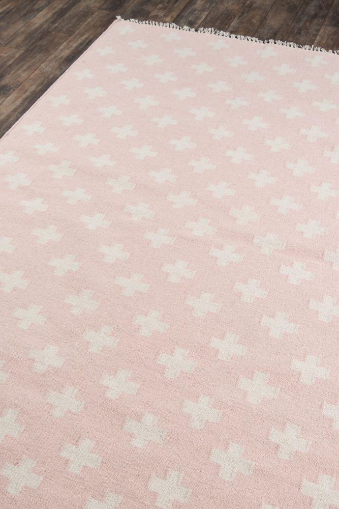 Novogratz Topanga Top-1 Lucille Pink 5'0″ x 7'6″ TOPANTOP-1PNK5076