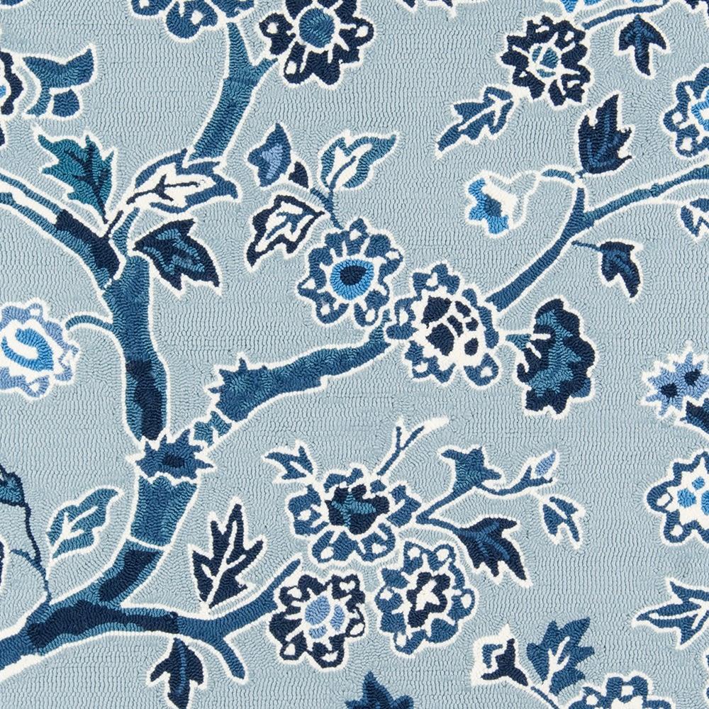 Madcap Cottage Under A Loggia Und-5 Blossom Dearie Blue 5'0″ x 8'0″ UNDERUND-5BLU5080