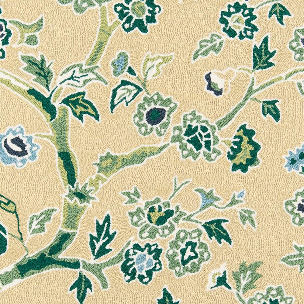 Madcap Cottage Under A Loggia Und-5 Blossom Dearie Yellow 3'9″ x 5'9″ UNDERUND-5YEL3959