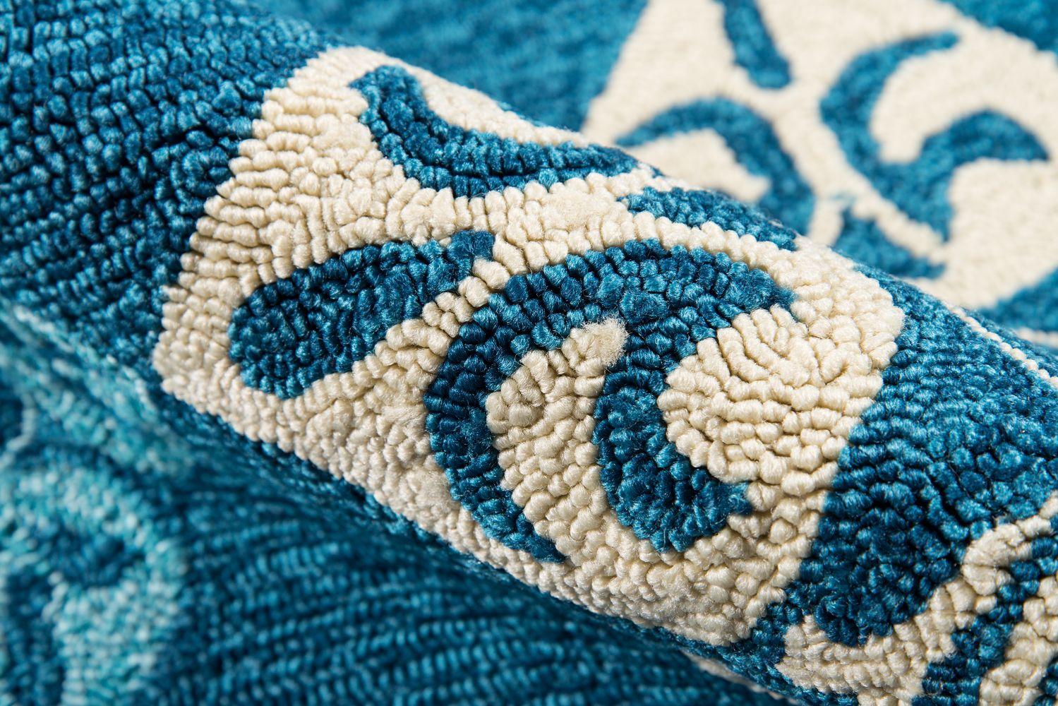 Momeni Veranda Vr-29 Blue 8'0″ x 10'0″ VERANVR-29BLU80A0