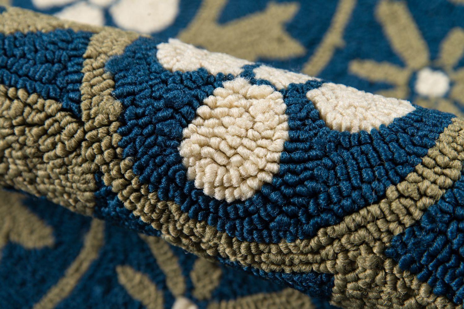 Momeni Veranda Vr-30 Blue 9'0″ x 9'0″ Round VERANVR-30BLU900R