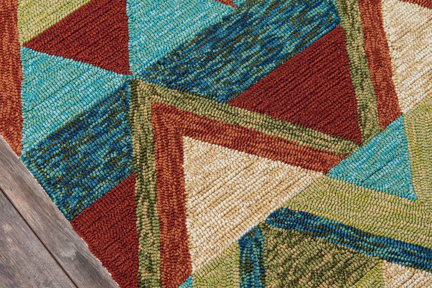 Momeni Veranda Vr-32 Multi 9'0″ x 9'0″ Round VERANVR-32MTI900R