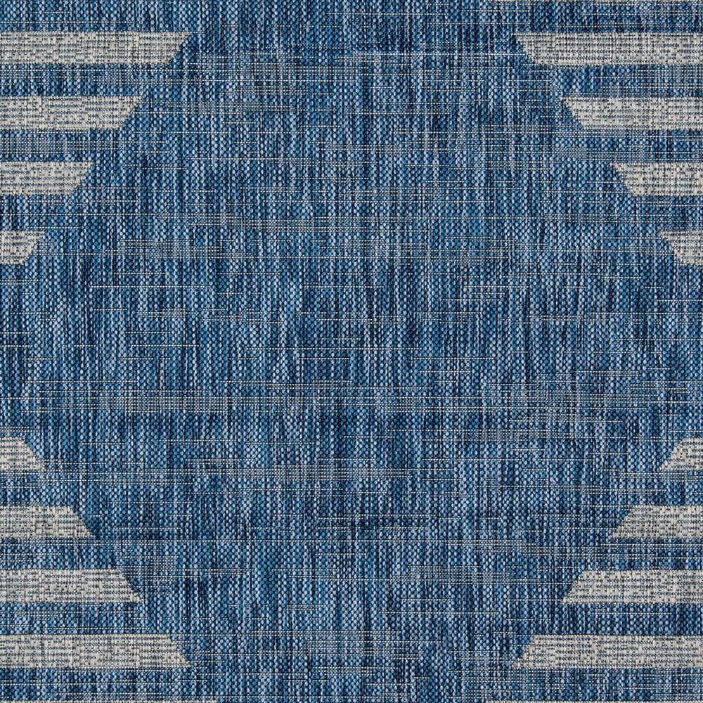 Novogratz Villa Vi-07 Cavallo Blue 9'3″ x 12'6″ VILLAVI-07BLU93C6