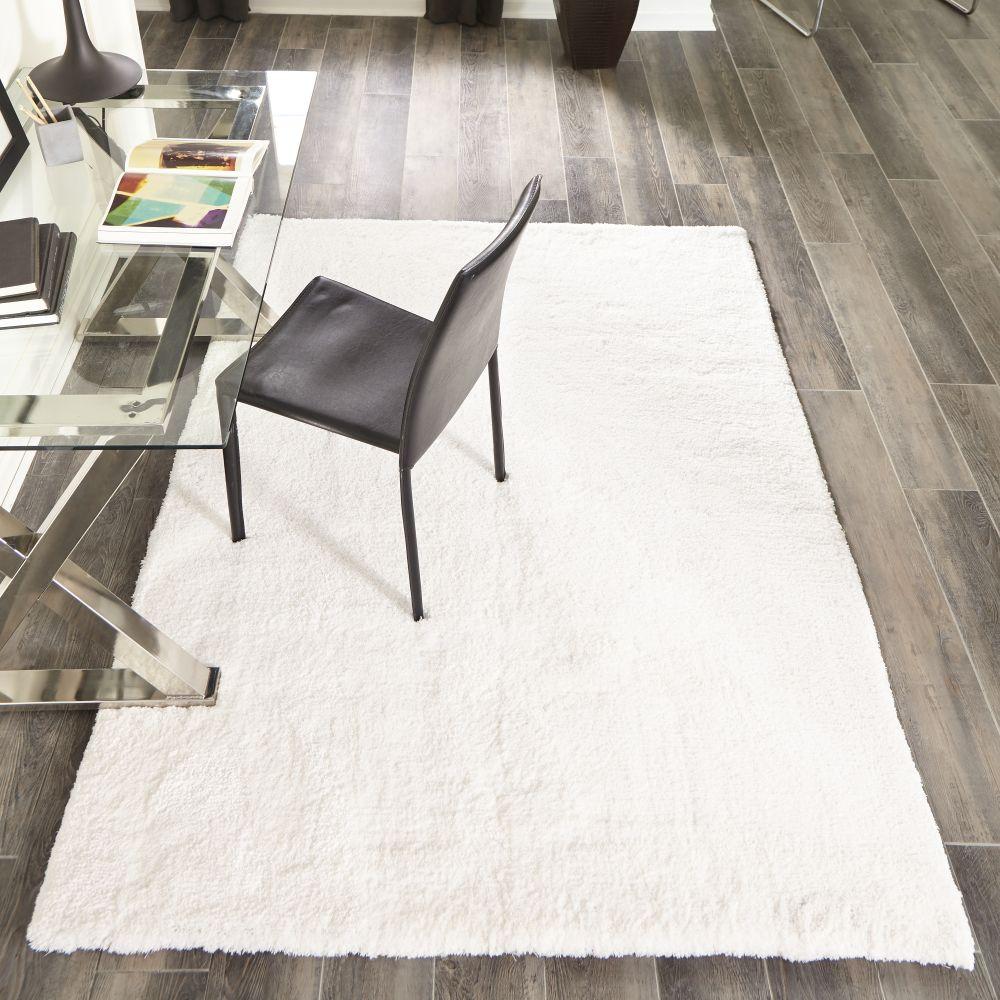 Momeni Velvet Shag Vs-01 Modern White 7'6″ x 9'6″ VSHAGVS-01WHT7696