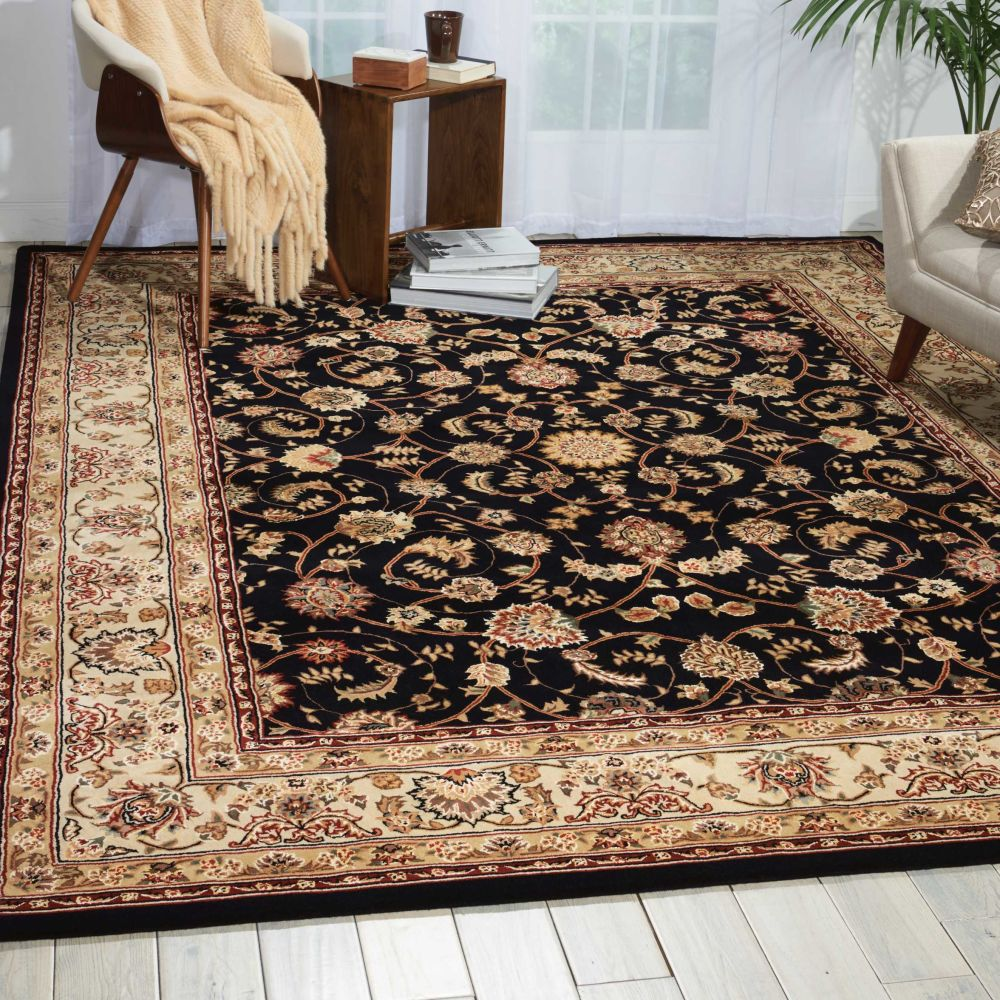 Nourison 2000 Traditional, Navy 2'6″ x 4'3″ 2015NVY3X5