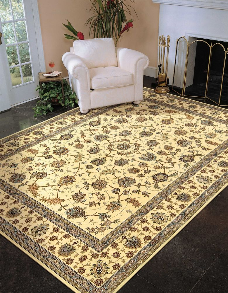 Nourison 2000 Traditional, Ivory 5'6″ x 8'6″ 2023VRY5X8