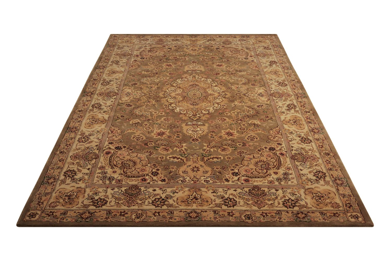 Nourison 2000 Traditional, Olive 9'9″ x 13'9″ 2028LV10X14