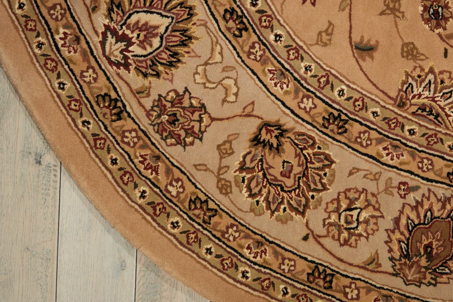 Nourison 2000 Traditional, Camel 7'6″ x 9'6″ Oval 2071CML6X9
