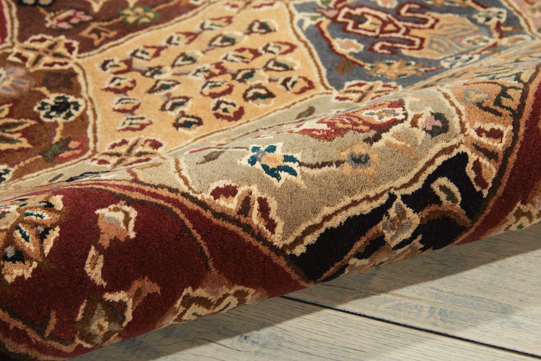 Nourison 2000 Traditional, Multicolor 10'0″ x 10'0″ Octagon 2101MLTCLR10X10